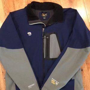 Mountain hardware soft shell jacket XL